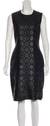 Prada Jacquard Knee-Length Dress