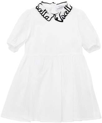 Cotton Eyelet Lace Dress