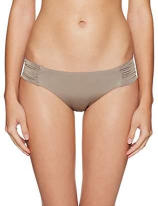 Trina Turk Women's Side Shir Hipster Bikini Swimsuit Bottom