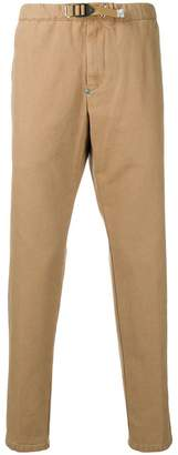 White Sand buckled tapered trousers