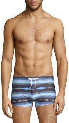 2xist Men's Fiesta Stripe Swim Trunks