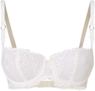 Chantelle Embroidered Lace Balconette Bra