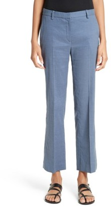 Women's Theory Hartsdale Np Crunch Wash Pants $275 thestylecure.com