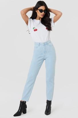 NA-KD Na Kd Loose Fit Jeans Light Blue