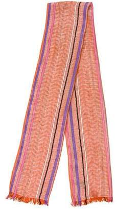 Emilio Pucci Linen-Blend Printed Scarf