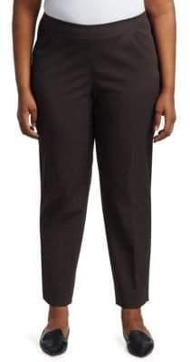 Lafayette 148 New York Lafayette 148 New York, Plus Size Stanton Italian Stretch-Cotton-Blend Pants