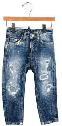 DSQUARED2 Boys' Distressed Jeans
