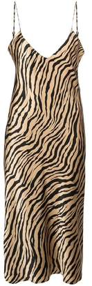 Nili Lotan Tiger Cami Midi Dress