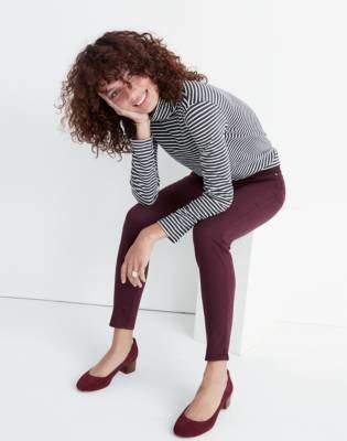 "Madewell 10"" High-Rise Skinny Sateen Jeans"