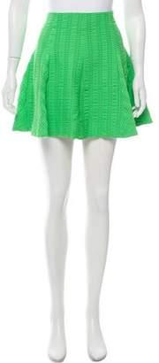 Rag & Bone Textured Pleated Skirt