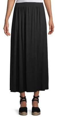 Rachel Pally Shirred A-line Midi Skirt