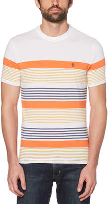 Original Penguin BLOCKED STRIPE TEE
