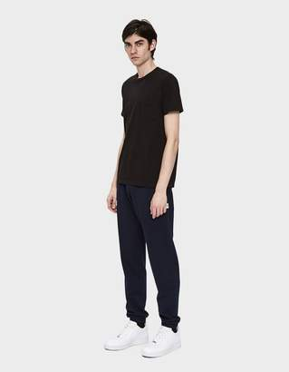 Velva Sheen 2 Pack S/S Pocket Tee in Black
