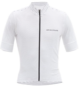 Café Du Cycliste Cafe Du Cycliste - Francine Short Sleeved Jersey - Mens - White Multi