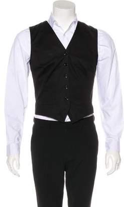 Dolce & Gabbana Button-Up Suit Vest