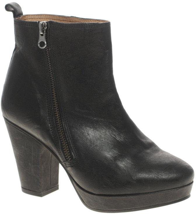 ASOS ALFREDO Platform Boots with Zip