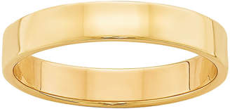 MODERN BRIDE Personalized Womens 14K Gold Wedding Band