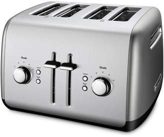 KITCH 4-Slice Toaster With Illuminated Buttons