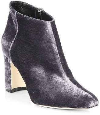 Manolo Blahnik Women's Brusta Velvet Booties