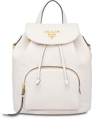 Prada classic flap backpack