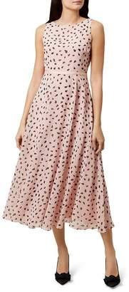 Hobbs London Carly Printed Midi Dress