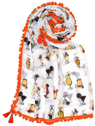 Lord & Taylor Drinks Square Scarf