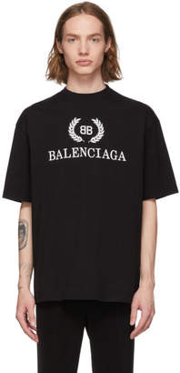 Balenciaga Black BB T-Shirt