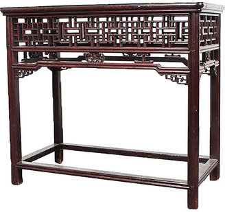 One Kings Lane Vintage Antique Chinese Console or Altar table - Antiquarian Art Company