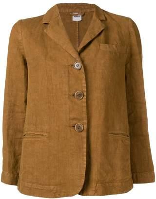 Aspesi linen fitted jacket
