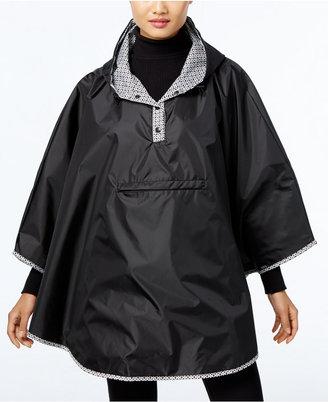 Totes Reversible Rain Poncho $60 thestylecure.com