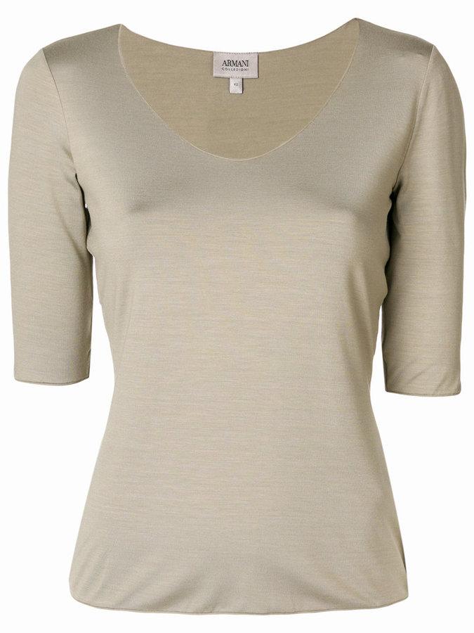 Armani Collezioni jersey T-shirt