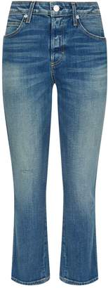 Amo Denim Babe High-Rise Straight Jeans