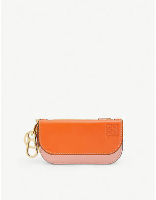 Loewe Gate mini leather wallet