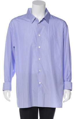 Christian Dior Striped French Cuff Shirt