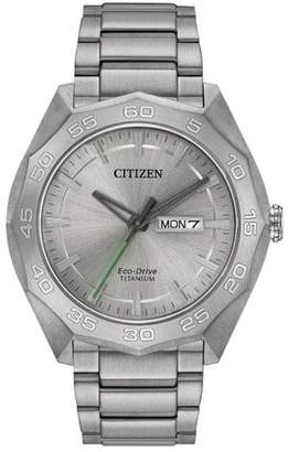 Citizen Men's Eco-Drive Bracelet Watch, 44mm