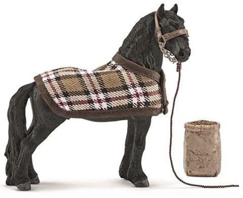 Schleich Frisian Horse Care Set