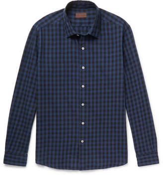 Altea Checked Cotton Shirt