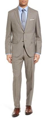 Men's Boss Johnstons/lenon Trim Fit Houndstooth Wool Suit $795 thestylecure.com
