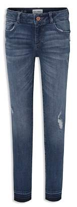 DL1961 Girls' Distressed Skinny Jeans - Little Kid