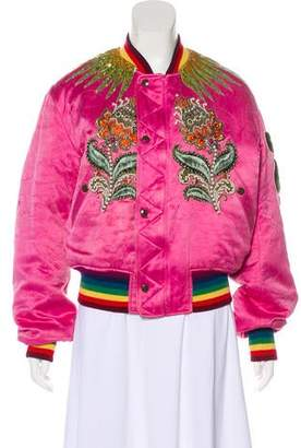 Gucci 2017 Embroidered Jacket