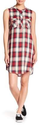 Splendid Plaid Sleeveless Dress