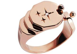 Nouvel Heritage Sparkles Ring - Rose Gold