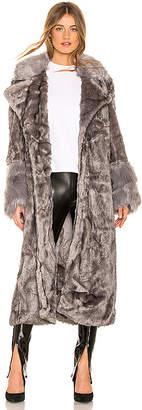 One Teaspoon Verona Faux Fur Coat