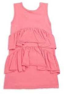 Joah Love Toddler's, Little Girl's& Girl's Ruffle Cotton Dress