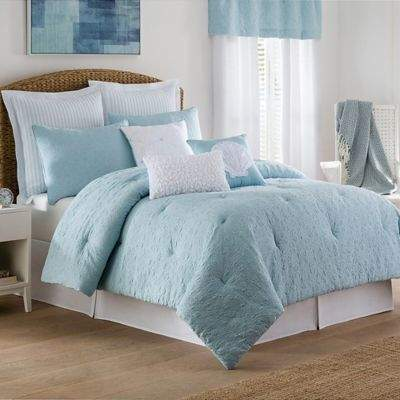 Buy Coastal Life Luxe Sonoma Twin Comforter Set in Sky!