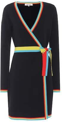Diane von Furstenberg Stretch knit wrap dress