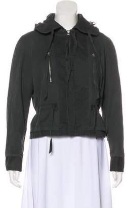 Maison Margiela Hooded Zip-Up Jacket