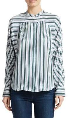 Maje Coquille Stripe Top