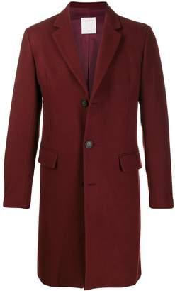 Paris single-breasted coat