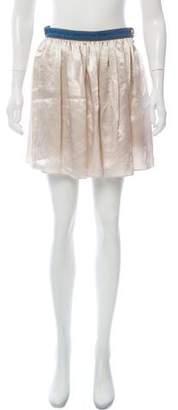 Sonia Rykiel Flounce Mini Skirt
